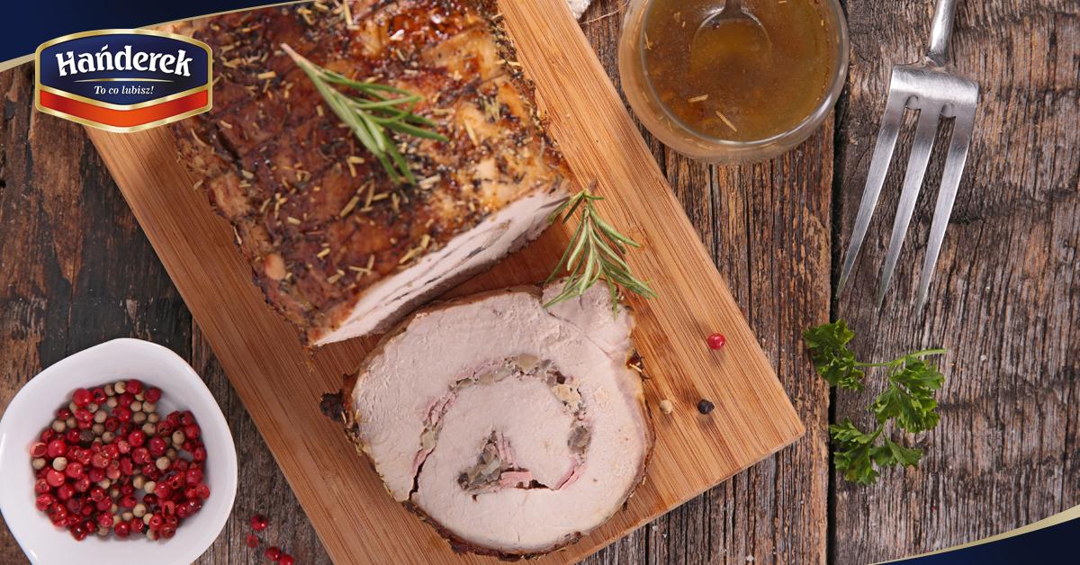 Necówka domowa z mięsa mielonego z polędwiczką wieprzową