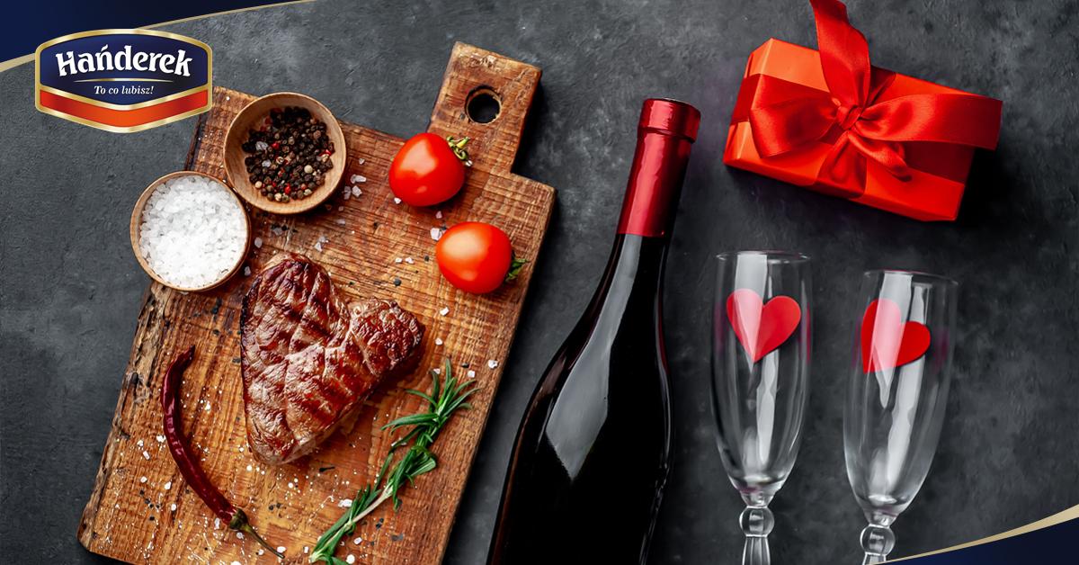 Danie na kolację walentynkową w domu - dobierzesz do niego tylko wino i sukces murowany