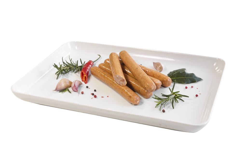 Kiełbaski grillowe z papryką