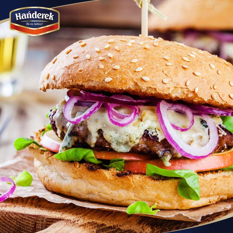 Najlepszy przepis na hamburgera z mięsem Hańderek